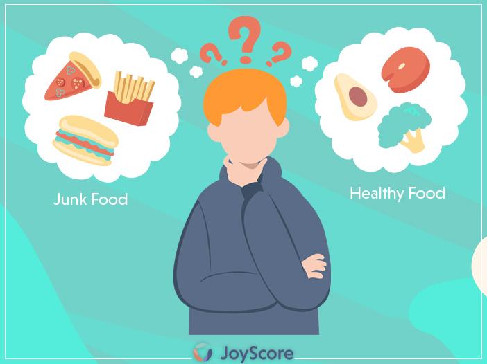 Junk Food Vs Health Food