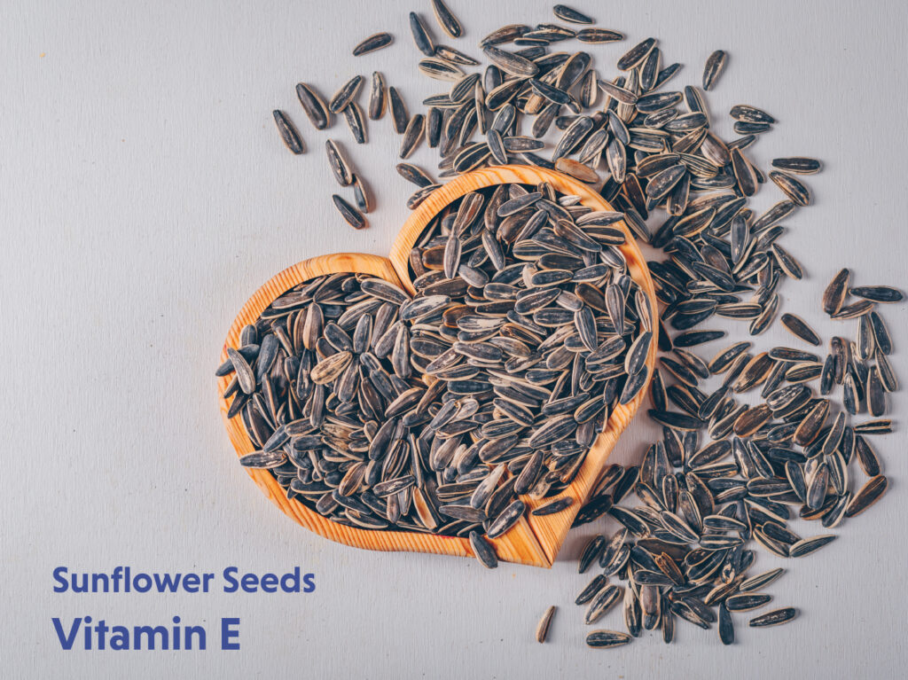 Sunflower seeds for wholesome diet