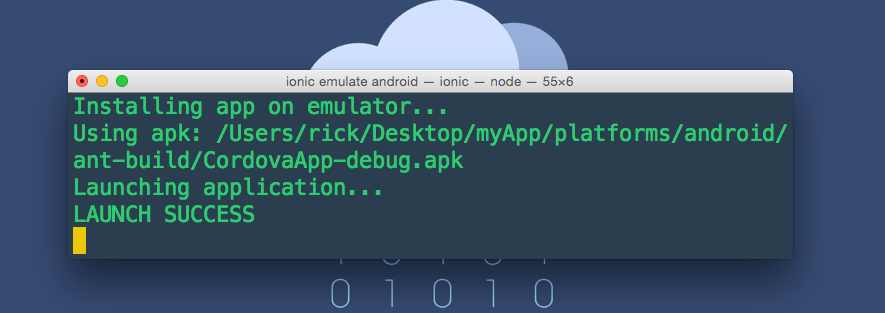 Ionic can't run android platform 'ANDROID_HOME is not set