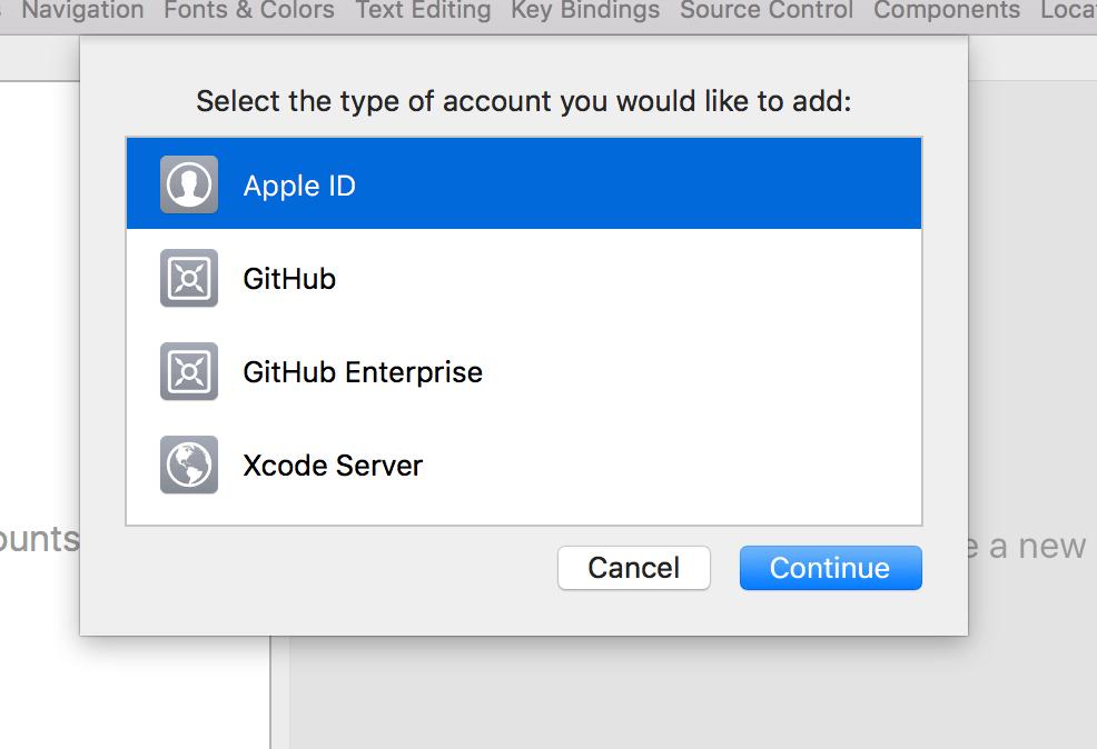 Step 4 - Add developer account login