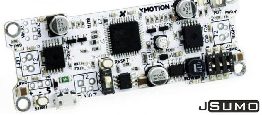الشكل (16) – لوحة XMotion المتكاملة لقيادة محركين بتيار 6A لكل منهما