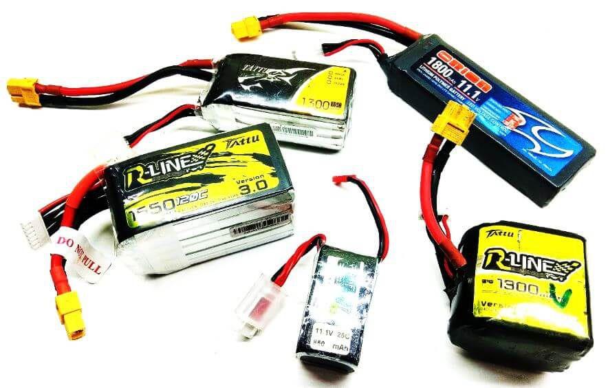 sumo robot lipo batteries