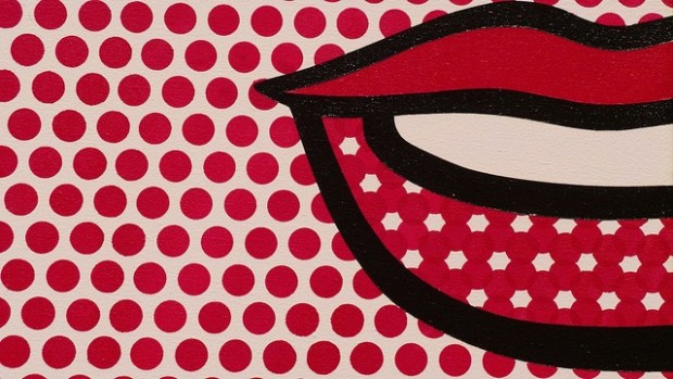 Roy Litchenstein ilustración creativa Labios