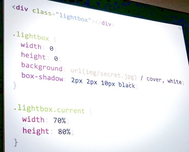 Shadow styles effect  CSS·