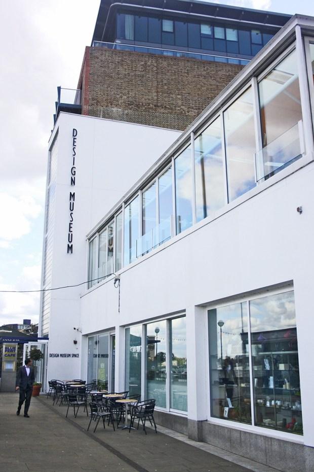 Entrance London Design Museum image