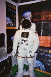 Spaceman Astronaut Jukebox Hire Digital London UK