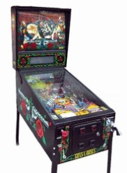 Gun N Roses Rock Pinball Machine Hire Short Term Long Term
