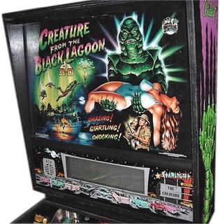Creatures of black lagoon pinball machine hire one night day party