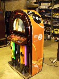 We offer a full branding service for all our jukeboxes