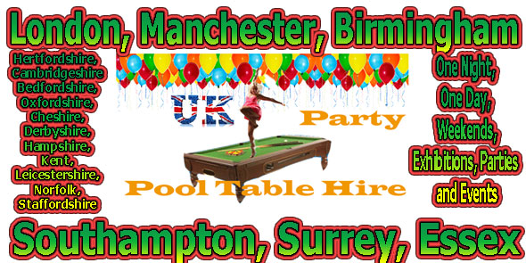 one-night-pool-table-hire-party-event-few-days-uk