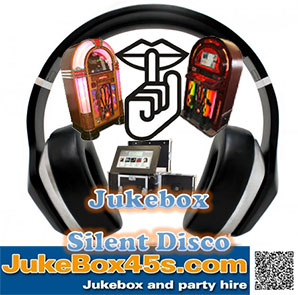 silent disco jukebox hire