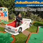 Wedding themed crazy golf mini 9 hole hire