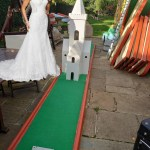 Hire a Wedding themed crazy golf course