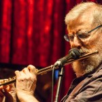 Lew Tabackin at Jimmy Mak's Jazz Club, Portland, Oregon. August 2011.