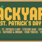 Backyard st patricks day poster