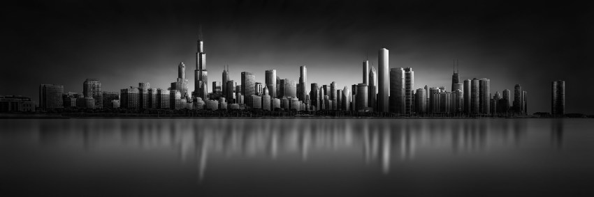 Urban Saga I - Deepest Secret - Chicago Skyline © Julia Anna Gospodarou