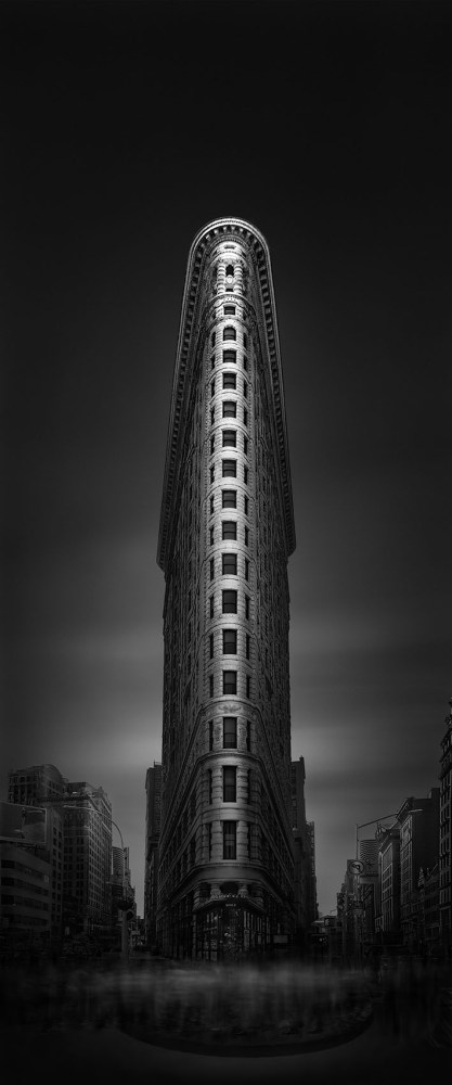 Urban Saga VI - Shadows of a Soul - How to recognize real art - Tribute to Zaha Hadid - Flatiron Building New York - © Julia Anna Gospodarou