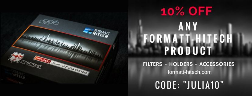 ANY Formatt-Hitech product - filters, holders etc. discount 10% OFF