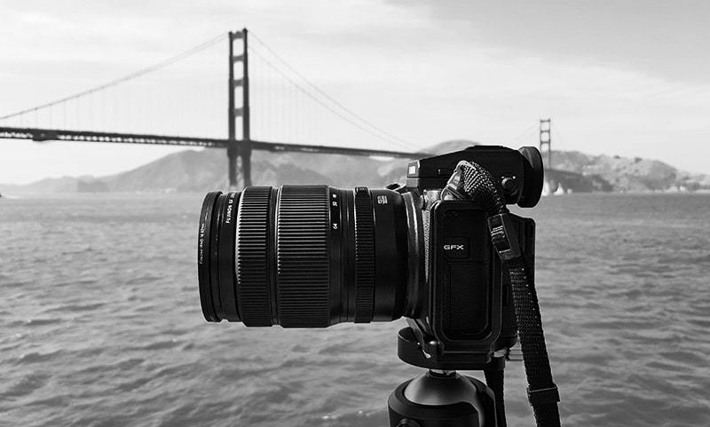 Shooting Golden Gate Bridge in San Francisco with Fujifilm GFX 50S
