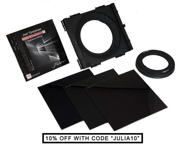 Long exposure kit Joel Tjintjelaar Signature Edtion - 10, 13, 16-stop nd filters