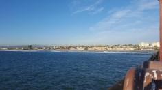 La côte depuis le ponton
