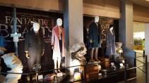 Les costumes du film Fantastic Beasts dans le hall