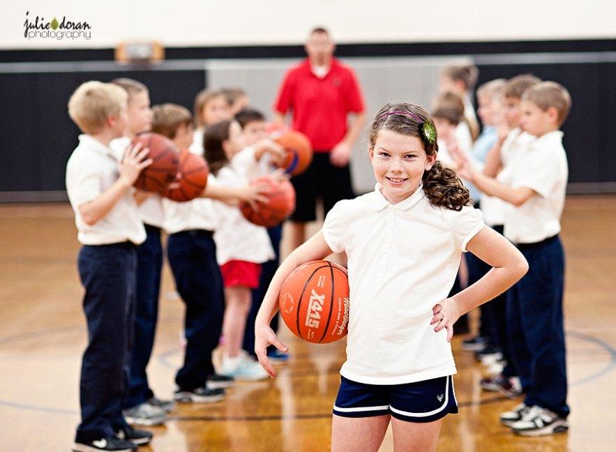 st james basketball student