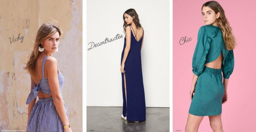 Comment porter la robe dos nu ?