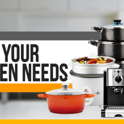 Kitchen Needs Pop Up Electrical Outlet Counter What Your Essentials Jumia Lounge Breadcrumbs Navigation