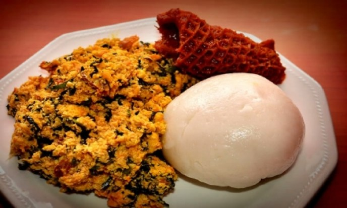 pounded-yam-and-egusi