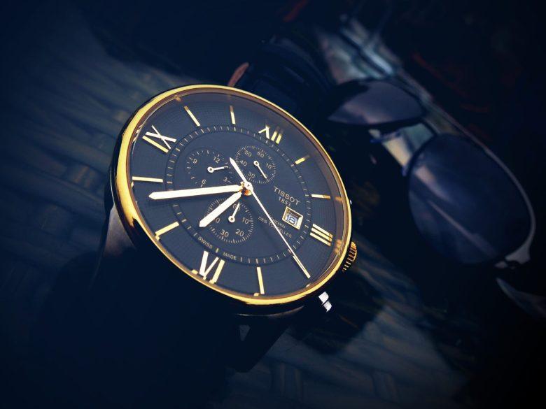 A designer wristwatch