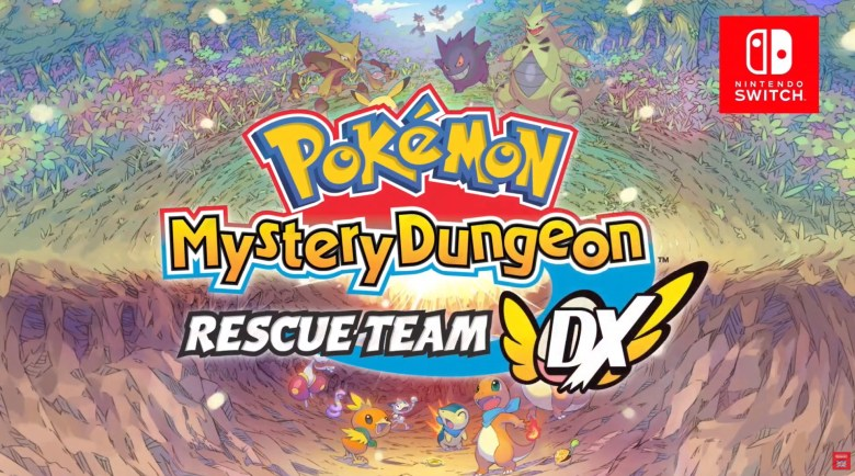 The new Pokemon Mystery Dungeon for Nintendo Switch