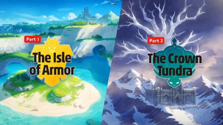The just-announced Pokemon Sword & Shield expansions, The Isle of Armor and The Crown Tundra.