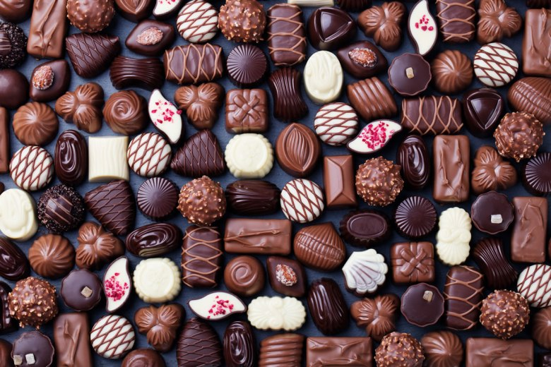More chocolates than you can shake a stick at