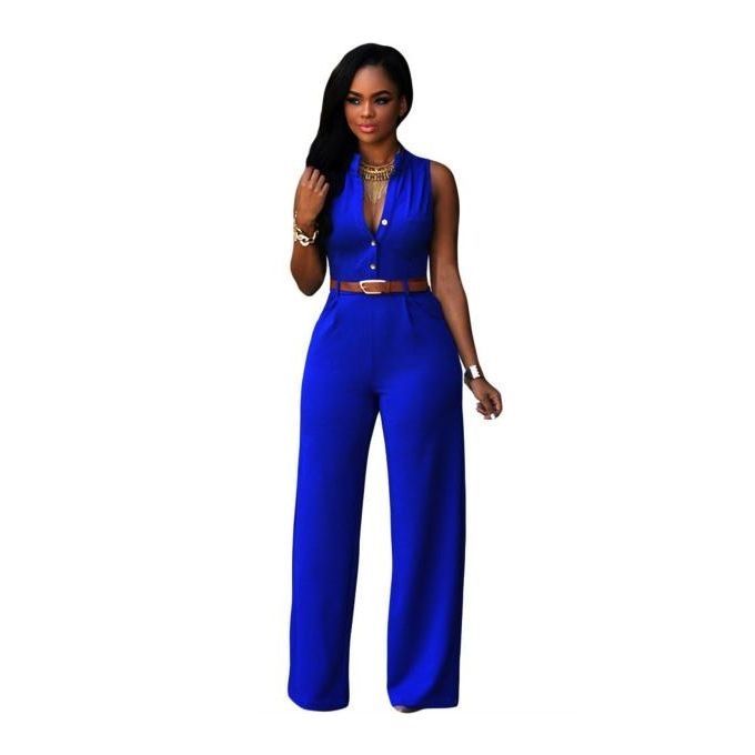 womens-blue-jumpsuits