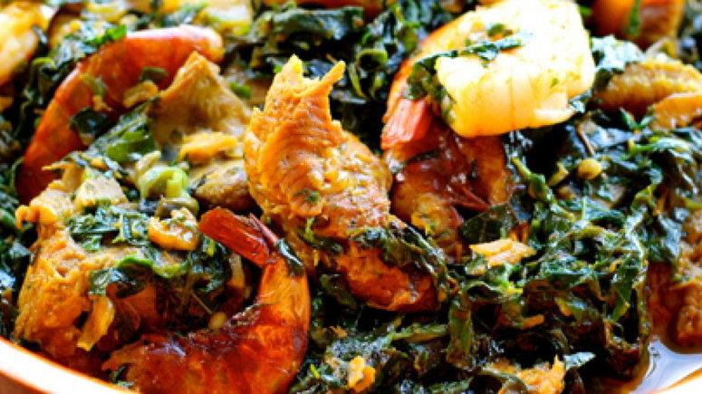 Nigerian Dish Edikang ikong