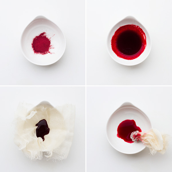 Red Beet Powder as Food Coloring