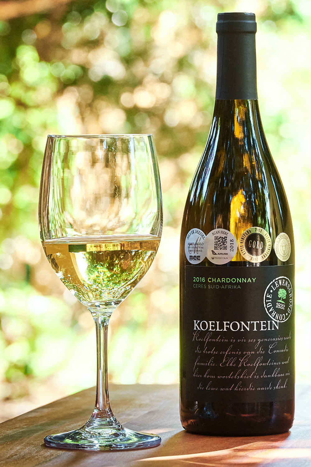 Example of a contextual product shot for Koelfontein Landgoed