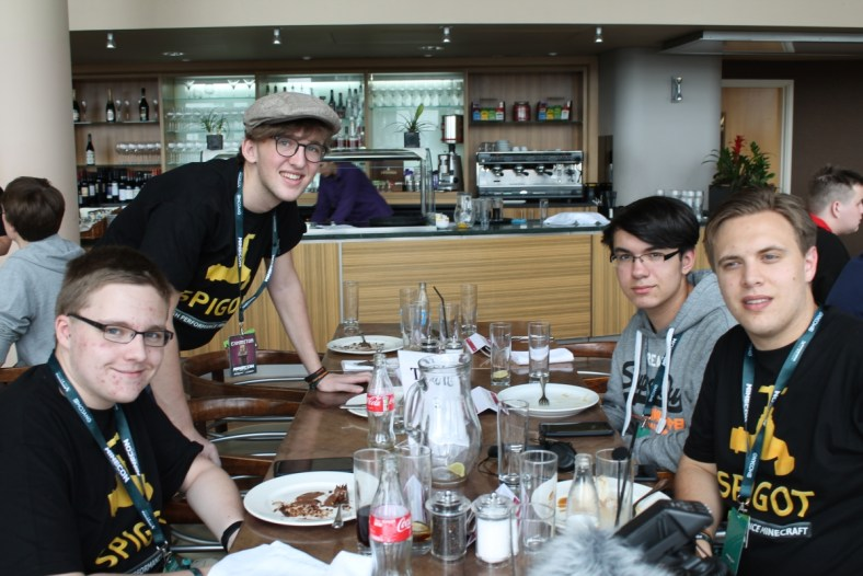 SpigotMC Lunch in London