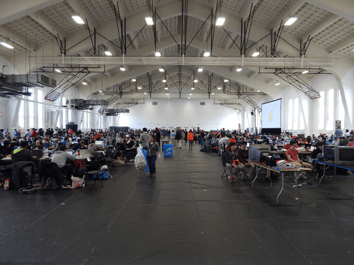 Bitcamp 2016: Over 1,000 hackers attended at the University of Maryland