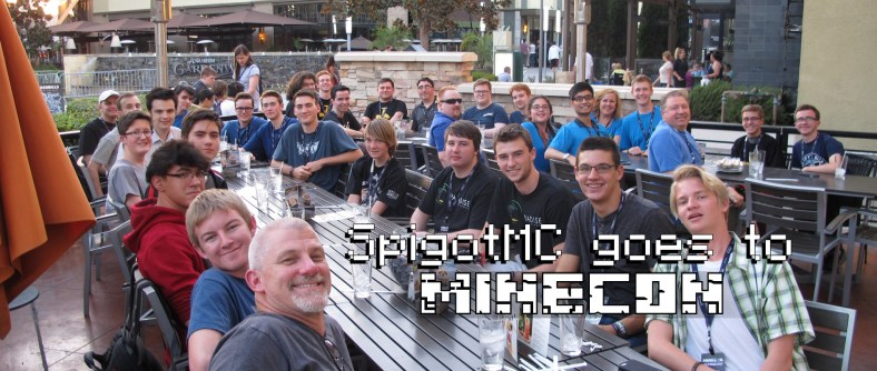SpigotMC goes to California for MINECON