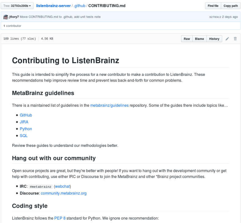 Making it easier for people to contribute user statistics to ListenBrainz