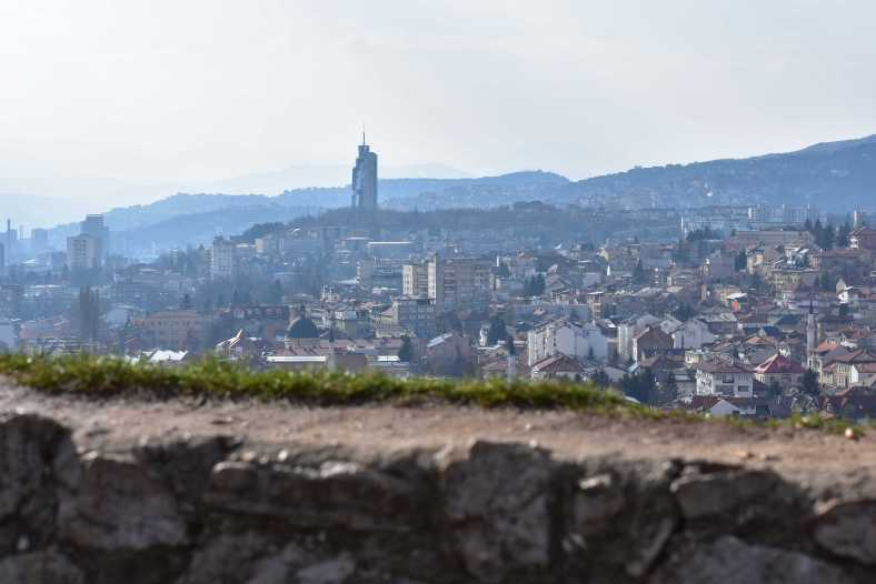 Taken from the Yellow Bastion in Sarajevo. I could get lost in this view forever.