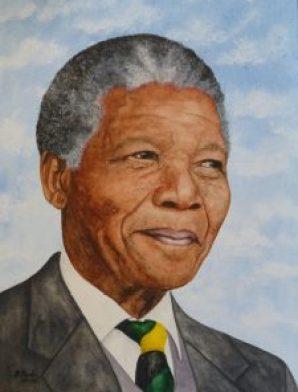 Nelson Mandela     Dezember 2013
