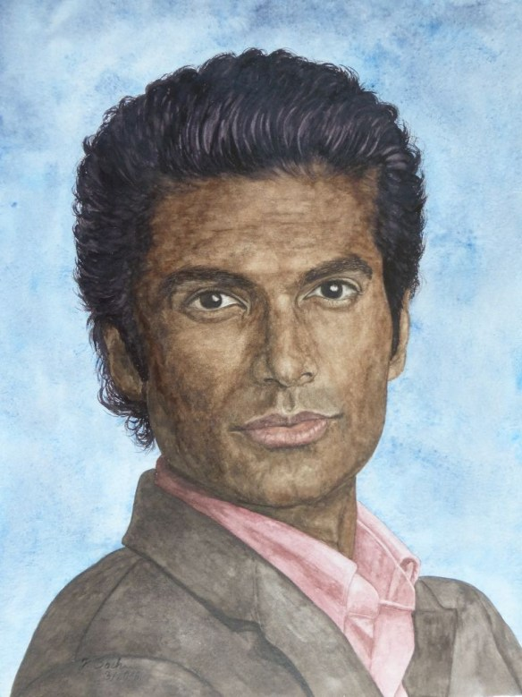 83 Gabe Lowen gespielt von Sendhil Ramamurthy in der Fernsehserie Beauty and the Beast