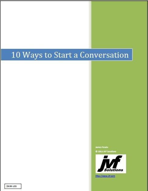 Conversation Starters eBook