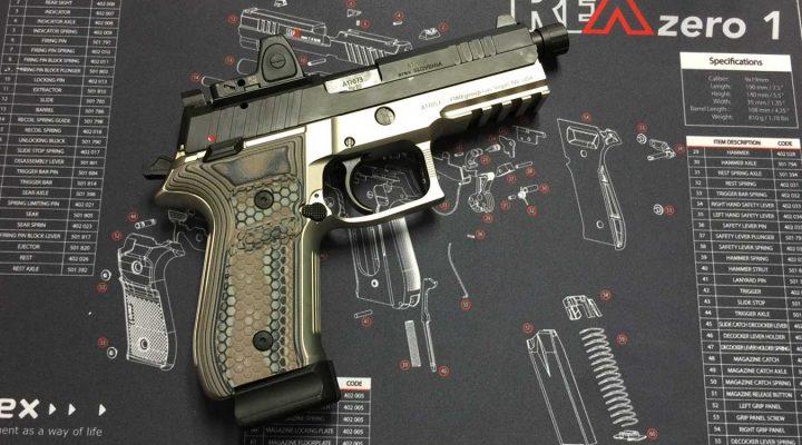 Arex Rex Zero 1 with Hogue G10 Grips