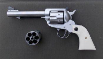Ruger revolver with spare cylinder