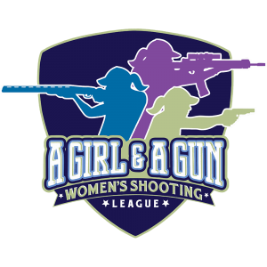 A Girl & a Gun women's Shooting League logo