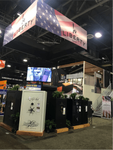 Liberty safe booth 2018 SHOT Show